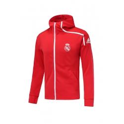Куртки олимпийки Реал Мадрид красная