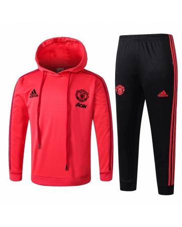 Детские костюмы теплые футбольные Манчестер юнайтед
