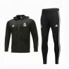 Костюм с капюшоном cпортивные костюмы Реал мадрид черный