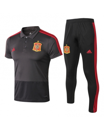 Футбольный костюм Испании темно синий