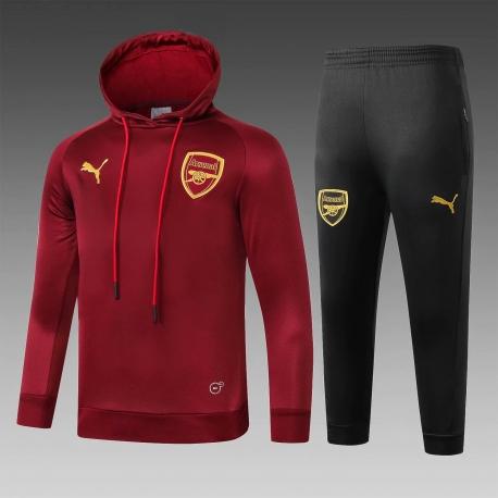 Детские теплые костюмы Арсенал 2020 2019 красный