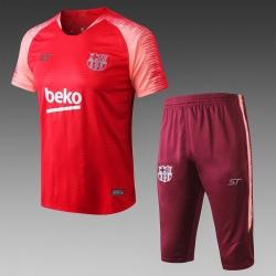 Футбольная форма костюм барселоны 2020 2019 бордовый