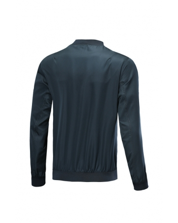 Куртки ветровка  олимпийки Реал Мадрид  темно синяя