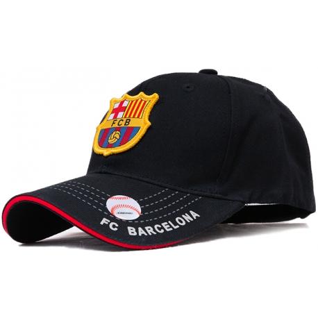 (Черный/Золотой) Бейсболки Barca