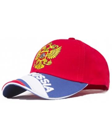 (Красный/Золотой) Кепки России футбольная форма
