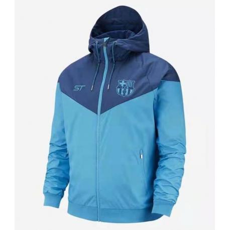 Куртки ветровка Барселона синяя