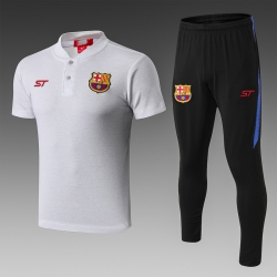 Футбольная форма костюм барселоны 2020 2019 серый