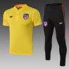 Футбольный костюм Атлетико Мадрид 2020 2019 желтый