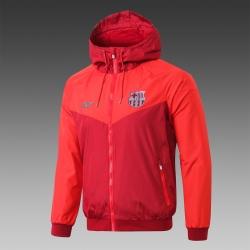 Куртка ветровка Барселоны красная