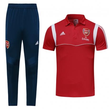 Футбольный костюм Арсенал красный