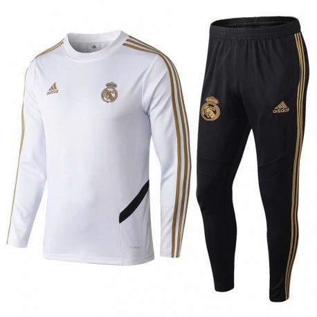 Теплые тренировочные спортивные костюмы реал мадрид белый 2020 2019