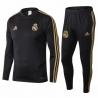 Тренировочный костюм Реал мадрид черный 2019 2020