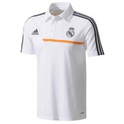 Белая футболка поло реал мадрид