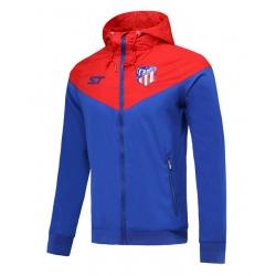Куртка ветровки Атлетико Мадрид синяя