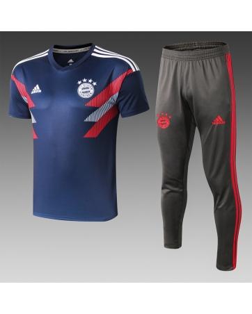 Футбольный костюм Баварии 2020 2019 темно синий
