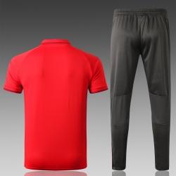 Футбольный костюм тренировочный Баварии мюнхен красный 2018 2019