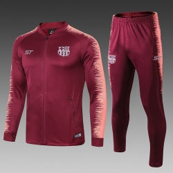 Спортивные костюм барселоны 2019 2018 бордовый
