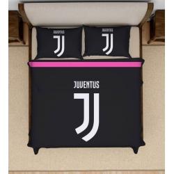 Постельное белье футбольное черное H1