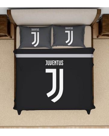 Постельное белье футбольное темно серый H1