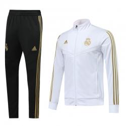 Cпортивные костюмы реал мадрид 2019 2020 белый золотой