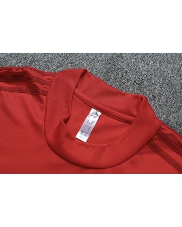 Бавария детский тренеровочный костюм красный 2020 2019