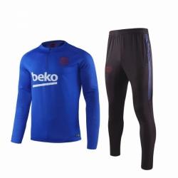 Тренировочные костюмы барселоны 2020 2019 синий