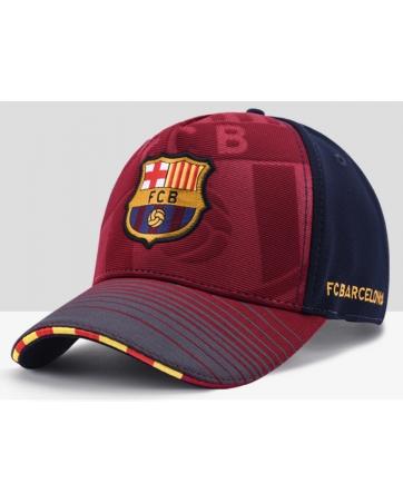 бейсболка кепка Барселоны гранатовая 2019 2020