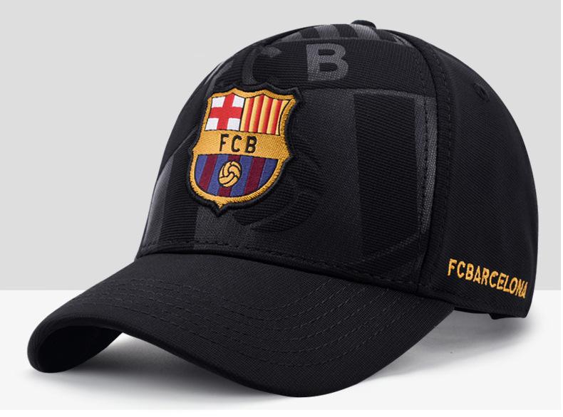 Барселоны бейсболка черная 2020