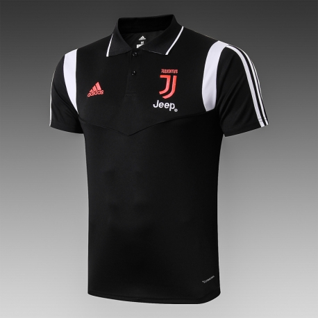 Футболка поло ювентус (Черный) 2020 2019