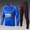 Тренировочныефутбольный  костюмы барселоны 2020 2019 синий