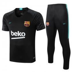 (Черный/Берюзовый) Футбольные костюмы барселоны 2020 2019