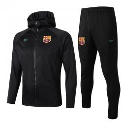 (Черный/Берюзовый) барселоны капюшоном Спортивные костюм 2019 2020