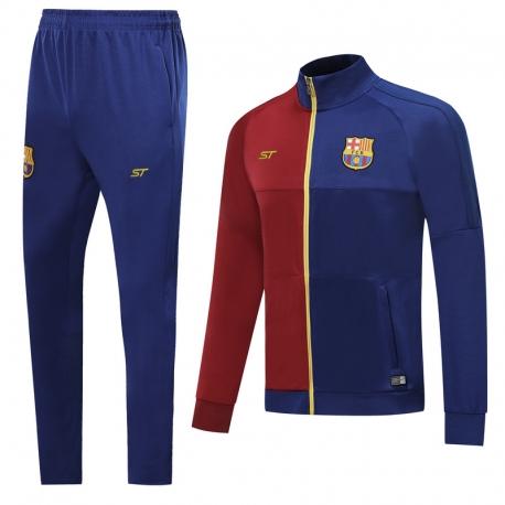 (Бордовый/Темно синий) барселоны Спортивные костюм 2019 2020