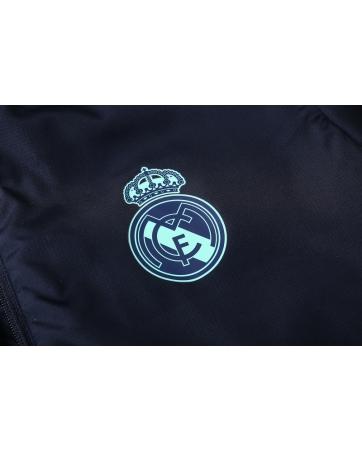 (Темно синий/Берюзовые) Cпортивные костюмы реал мадрид 2019 2020