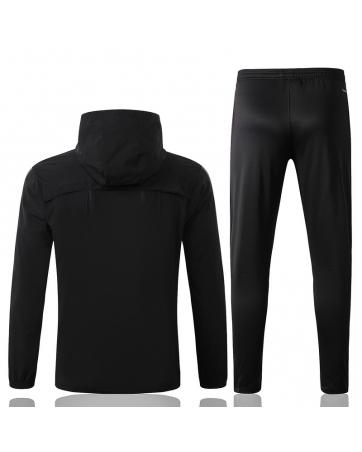 (Черный/Золотой) Ветрозащитный спортивные костюмы реал мадрид