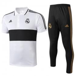 (Белый/Черный) Тренировочные поло костюмы реал мадрид купить