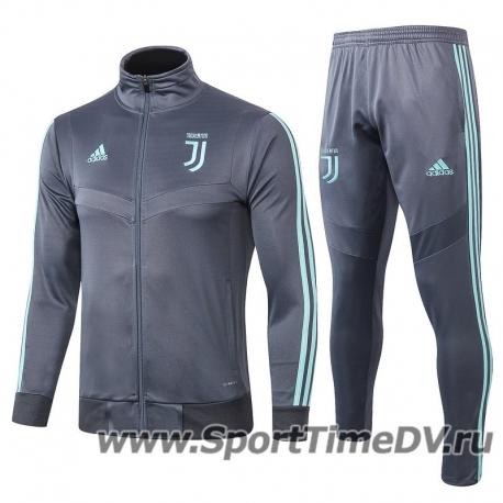 (Серый/Минтоловый) Спортивный костюмы juventus 2019 2020