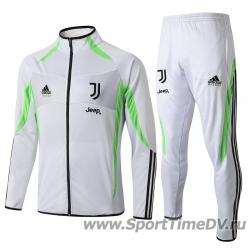 (Белый/Черный) Спортивный костюмы juventus 2019 2020