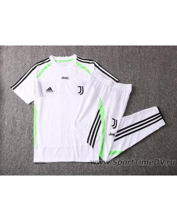 (Белый/Черный) Футбольный костюм белый ювентус 2020 2019