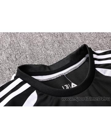 (Черный/Белый) Футбольный костюм белый ювентус 2020 2019