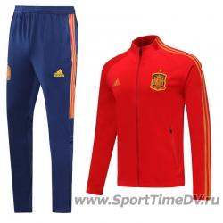 Спортивный костюм испании 2020 2021 красный