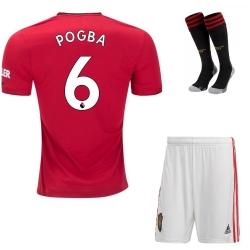 Купить Детская форма Манчестер Юнайтед Погба 6 2019-2020 с