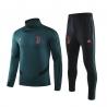 Купить (Зеленый/Белый) Водолазкой тренировочные костюмы UEFA