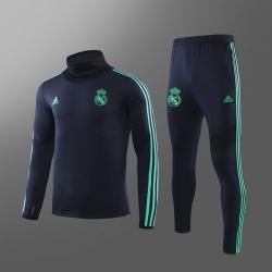 Купить Водолазкой тренировочные костюмы UEFA реал мадрид 2019