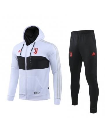 Купить Капюшоном спортивные костюмы ювентус (Белый/Черный)
