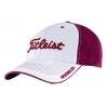 (Белый/Бордовый) Titleis кепка бейсболка