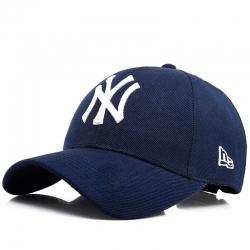 Бейсболка нью йорк янкиз Темно синяя