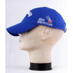 Бейсболки мужские синие (Плотный/Дышащий)