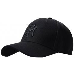 бейсболка new york yankees Черный strechfit купить