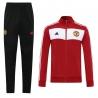 Cпортивные костюмы манчестер юнайтед (красный/Черный) 2021 2020